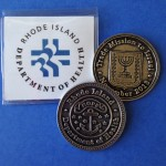 Rhode Island Department of Health Challenge Coin